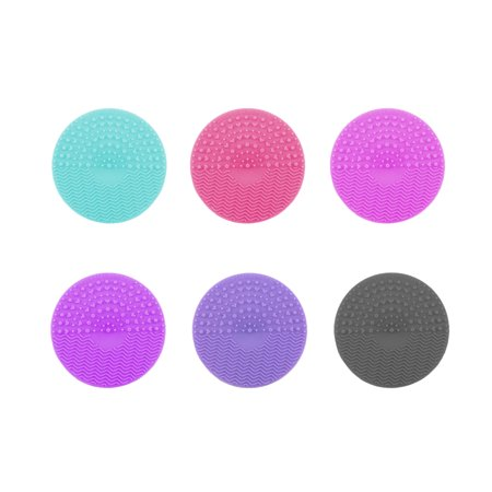 Silicone Makeup Brush Cleaning Mat Makeup Brush Cleaner Pad Cosmetic Brush Cleaning Scrubber Washing Tool - image 5 of 9