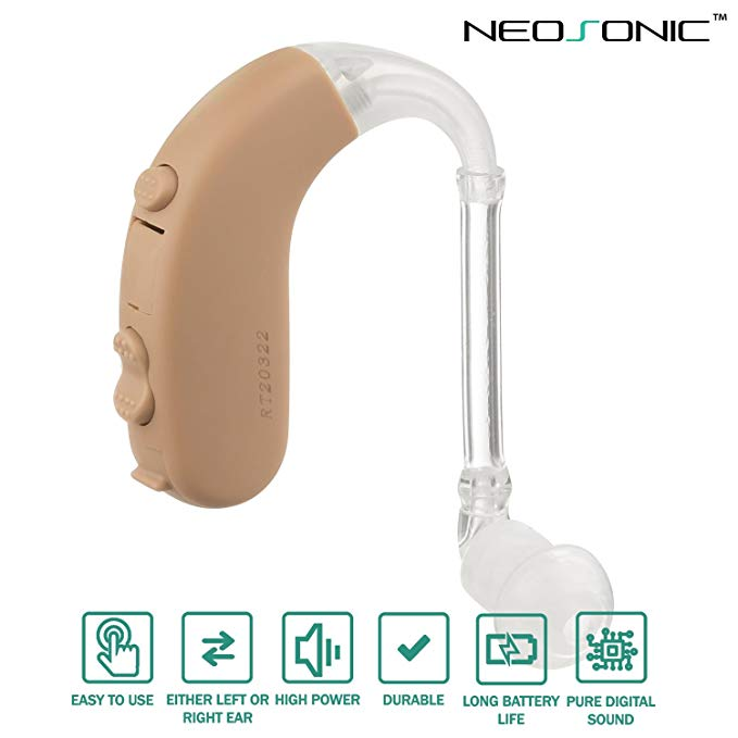 Neosonic Behind The Ear Digital Aid Hearing Amplifier