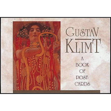 Gustav Klimt Bk of Postcards -