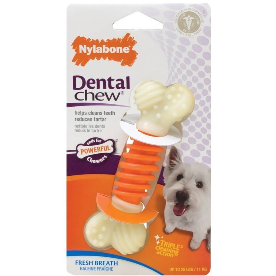 Nylabone Pro Action Dental Dog Chew, Small