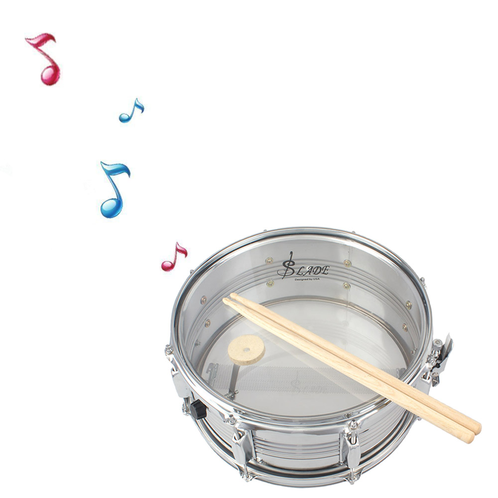 "Ktaxon LADE Student 14.45"" Snare Drum Set with Cotton Bag, Drum Sticks Set"