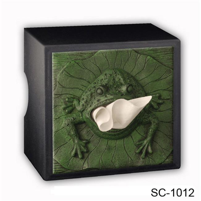 Caravelle Designs SC-1012 Frog Tissue Box Cover