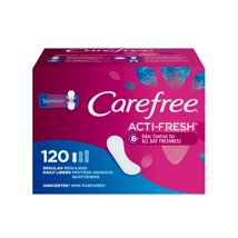 Panty Liners: Carefree Acti-Fresh