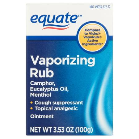 Equate Vaporizing Rub Ointment  3 53 Oz