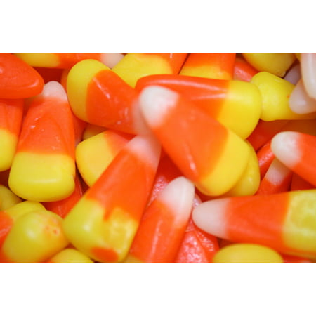BAYSIDE CANDY CANDY CORN, 1LB - Halloween Cute Candy Corn
