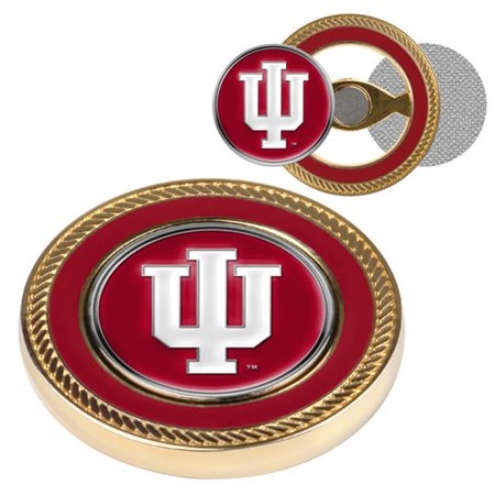 LinksWalker LW-CO3-INH-CCBM Indiana Hoosiers-Challenge Coin & 2 Ball Markers - image 1 of 1