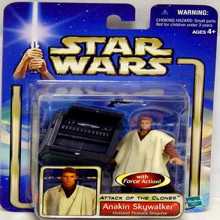Anakin Skywalker Action Figure Outland Peasant Disguise Star Wars - Anakin Skywalker Boy