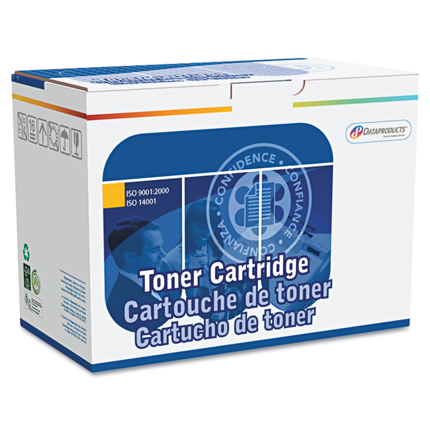 DataProducts Remanufactured CC533A (304A) Toner, 2,800 Pa...