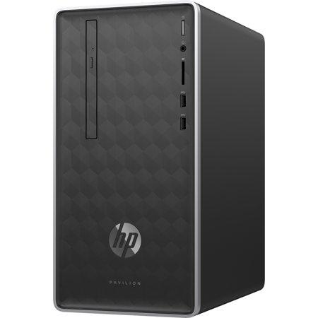 HP Pavilion 590-p0055qe Desktop Computer i7-8700 12GB 1TB 16GB SSD Win10 Refurb ()