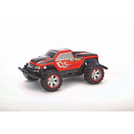 carrera radio controlled 370183003 1 18 scale rc pick up truck red. Black Bedroom Furniture Sets. Home Design Ideas