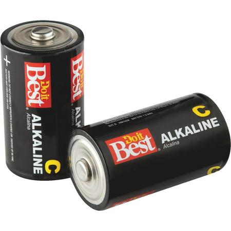 Do it Best C Alkaline Battery