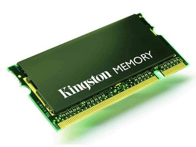KINGSTON MEMORY - MEMORY - 1 GB - SO DIMM 200-PIN - DDR II - 667 MHZ - UNBUFFERE - KTT667D2/1G