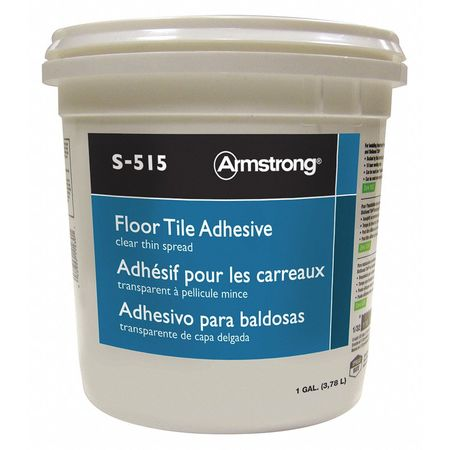 Vinyl Composition TileAdhesive,1 gal,PK4 ARMSTRONG FP00515408