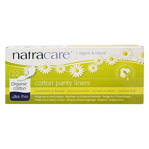 Natracare Panty Liners, Ultra Thin, 22 Ct
