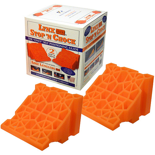 Lynx Stop 'N Chock 2-Pack Interlocking Wheel Chock