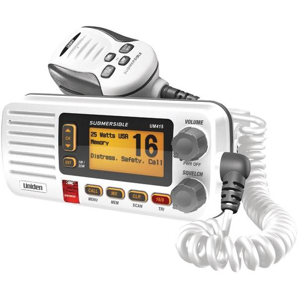 Oceanus D Marine Radio (White)