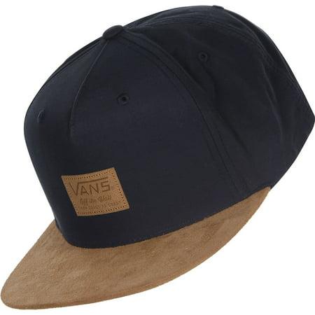VANS - Vans Off The Wall Emerson Starter Snapback Hat Cap-Dress Blues Brown  - Walmart.com 2a66fcf48df