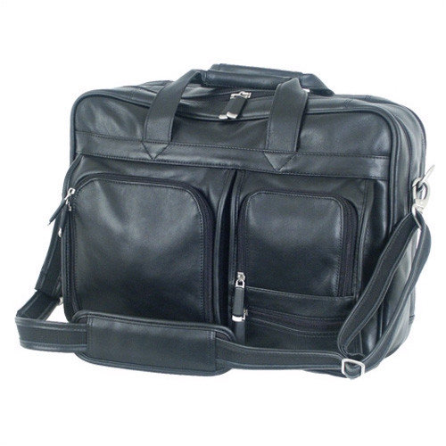 Mercury Luggage Sondrio Leather Briefcase