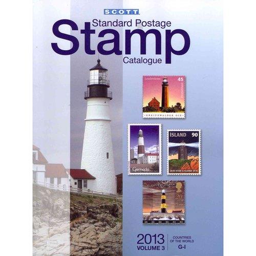 2013 Scott Standard Postage Stamp Catalogue Volume 3 Countries of the World G-I