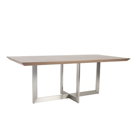 Eurostyle Tosca Dining Table Walnut