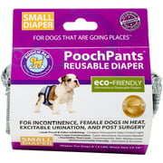 PoochPants Reusable Dog Diaper, Small, 8 To 14 lbs