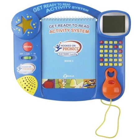 Hooked on Phonics Get Ready to Read Activity System, Electronic Learning Toy
