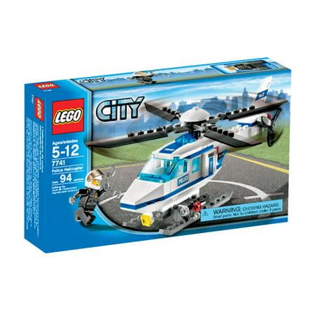 Lego City Police Helicopter Walmart