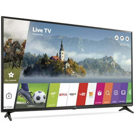 lg 65 class 4k 2160p ultra hd smart led tv 65uj6300. Black Bedroom Furniture Sets. Home Design Ideas