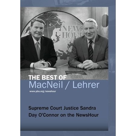 Supreme Court Justice Sandra Day O'Connor on the Newshour - Supreme Court Halloween