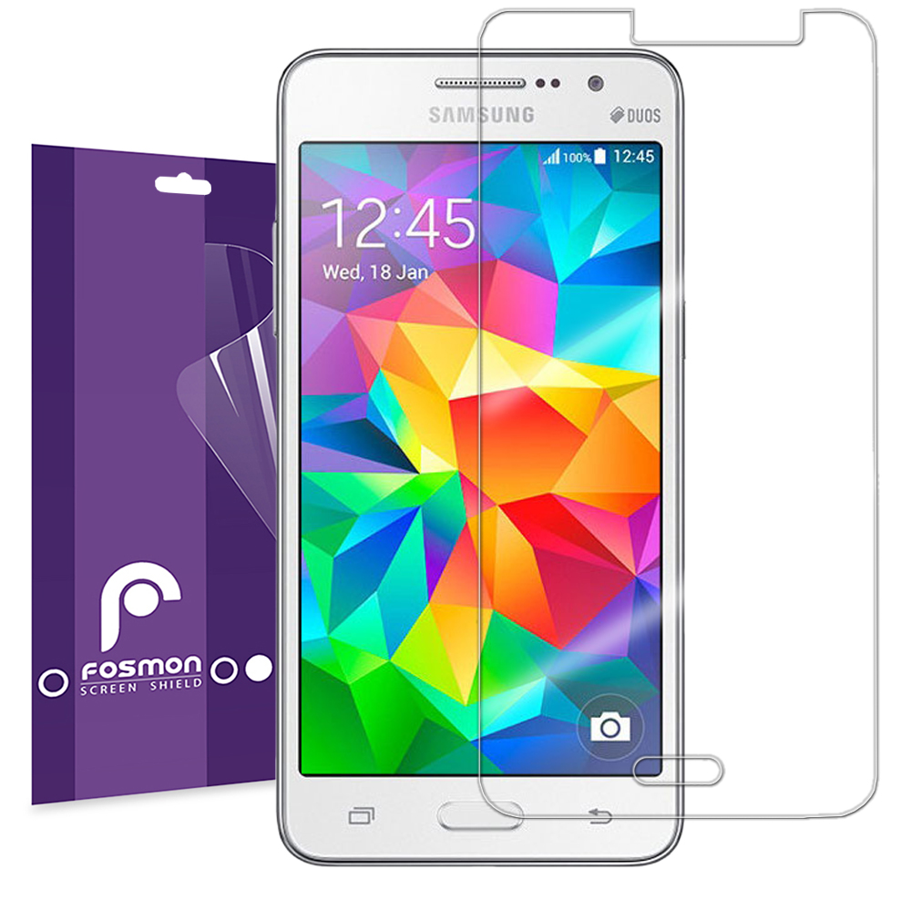 3x Ultra Clear HD Screen Protector Shield Film For Samsung Galaxy Grand Prime