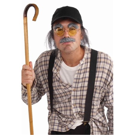 Adult Old Man Halloween Costume Kit