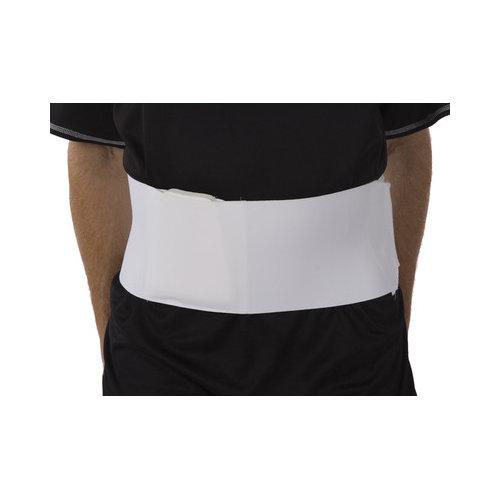 ATSurgicalCompany 9'' Extra Long Rib Belt in White