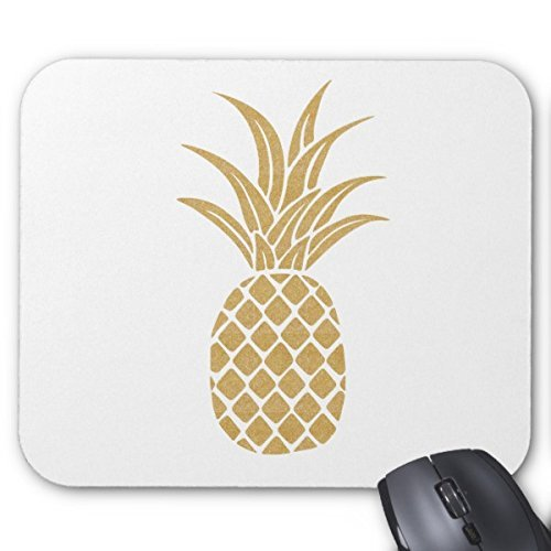 POPCreation Gold Pineapple Mouse pads Gaming Mouse Pad 9.84x7.87 inches