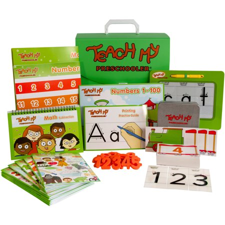 Teach My Preschooler Learning Kit (Educational Toys For Preschoolers)