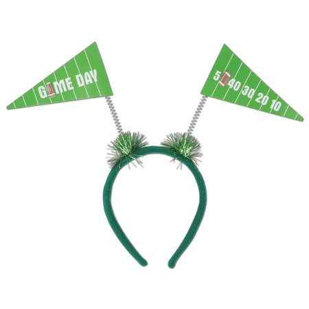 Club Pack of 12 Game Day Pennant Flag Football Boppers Party Favors](Football Halloween Prank)