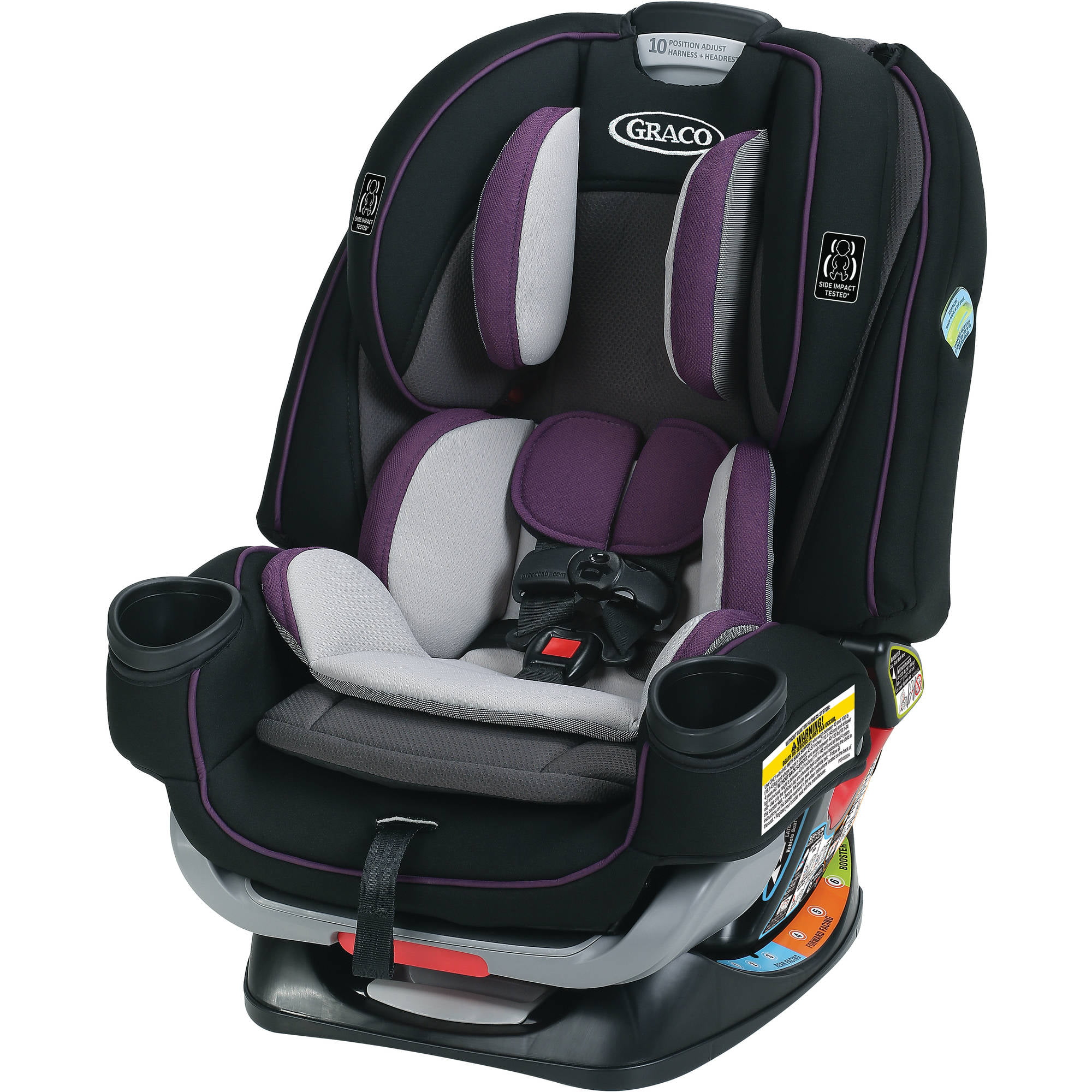 Graco 4Ever Extend2Fit 4-in-1 Convertible Car Seat, Jodie