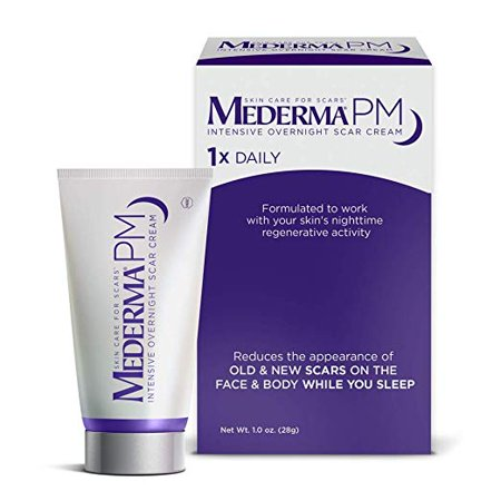 Mederma PM Intensive Overnight Scar Cream (Best Scar Tissue Removal Cream)
