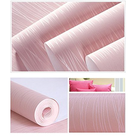 Pink Modern Wire Drawing 3D Textured Self-Adhesive Peel and Stick ...
