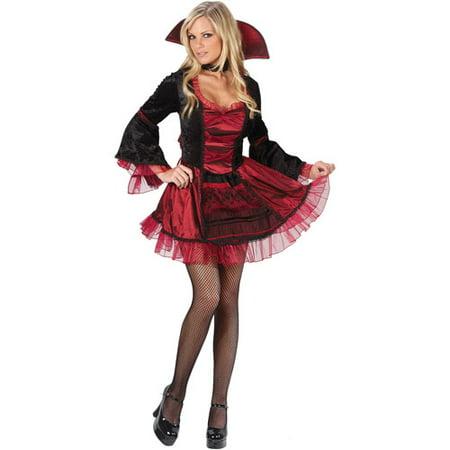 Sassy Victorian Vampiress Adult Halloween Costume
