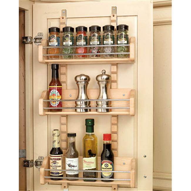 Rev-A-Shelf RS4ASR. 18 Adjustable Door Mount Spice Rack