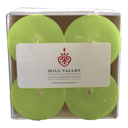 Mill Valley Candleworks Spa Day Scented Votive Candle (Set of 4)