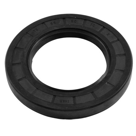 Unique Bargains 55mm x 90mm x 10mm Metric Double Lipped Rotary Shaft Oil Seal TC