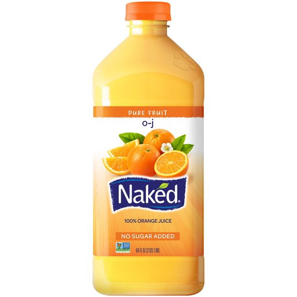 Naked Orange Juice, 64 Fl. Oz.