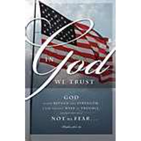 Bulletin In God We Trust  Psalm 46 1 2 Kjv   Pack Of 100