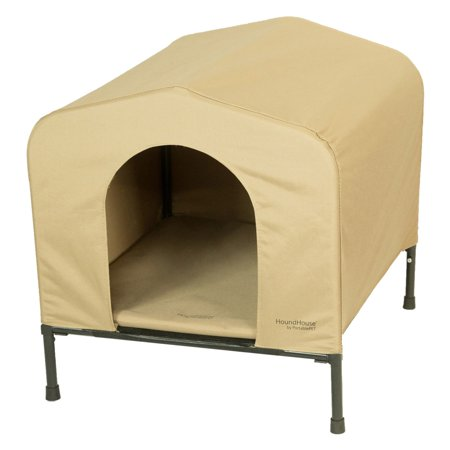 PortablePET HoundHouse Small Khaki Elevated Dog House