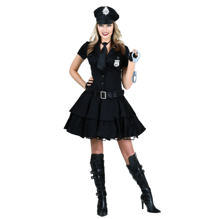 Women's Playful Police - Women Police Costume