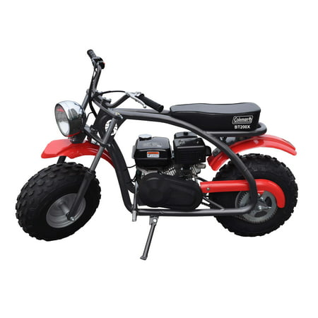 b5cd4c5afe0 Coleman Powersports 200cc Gas Powered Mini Bike - Red and Black ...
