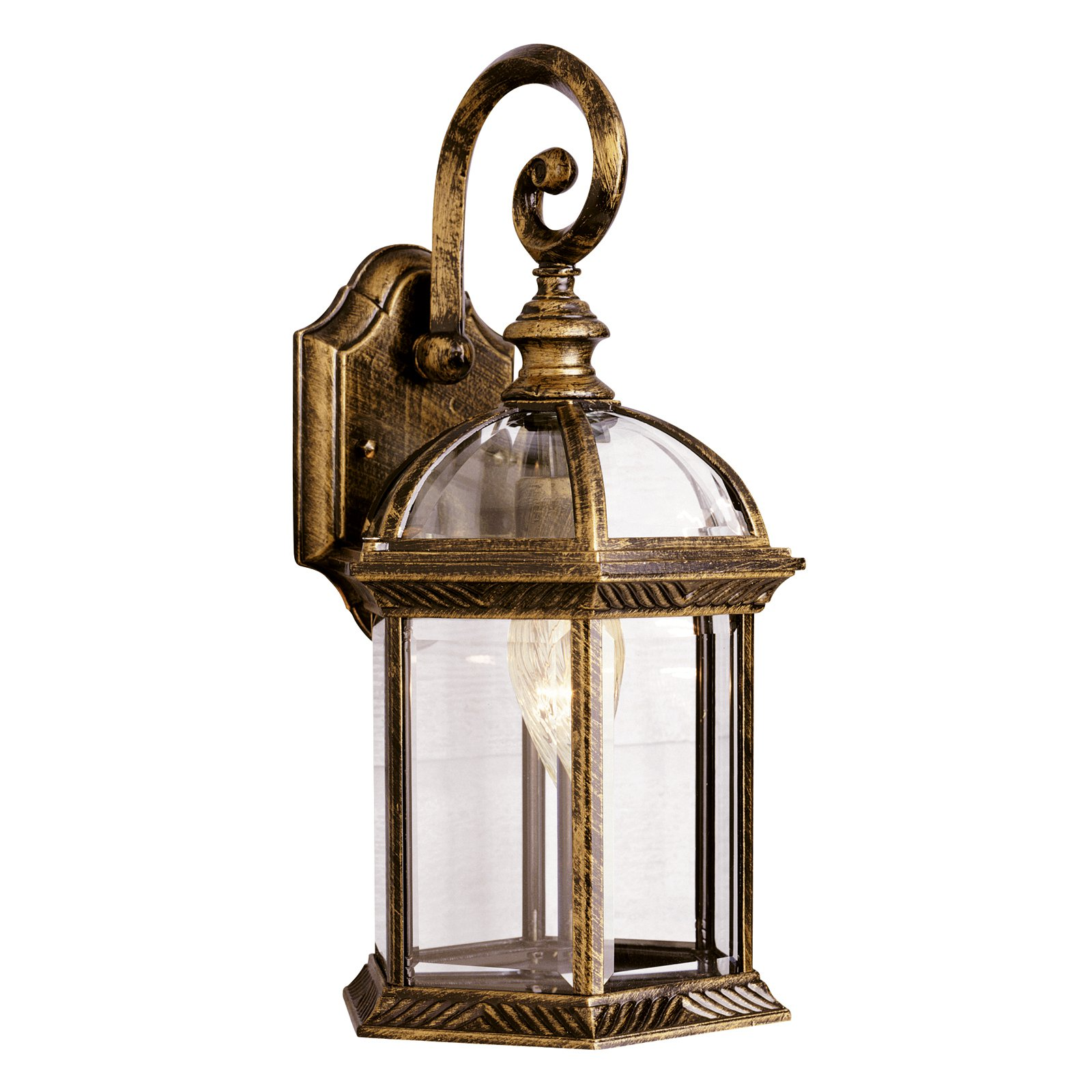 Bel Air Keystone Outdoor Wall Light - 15.75H in.