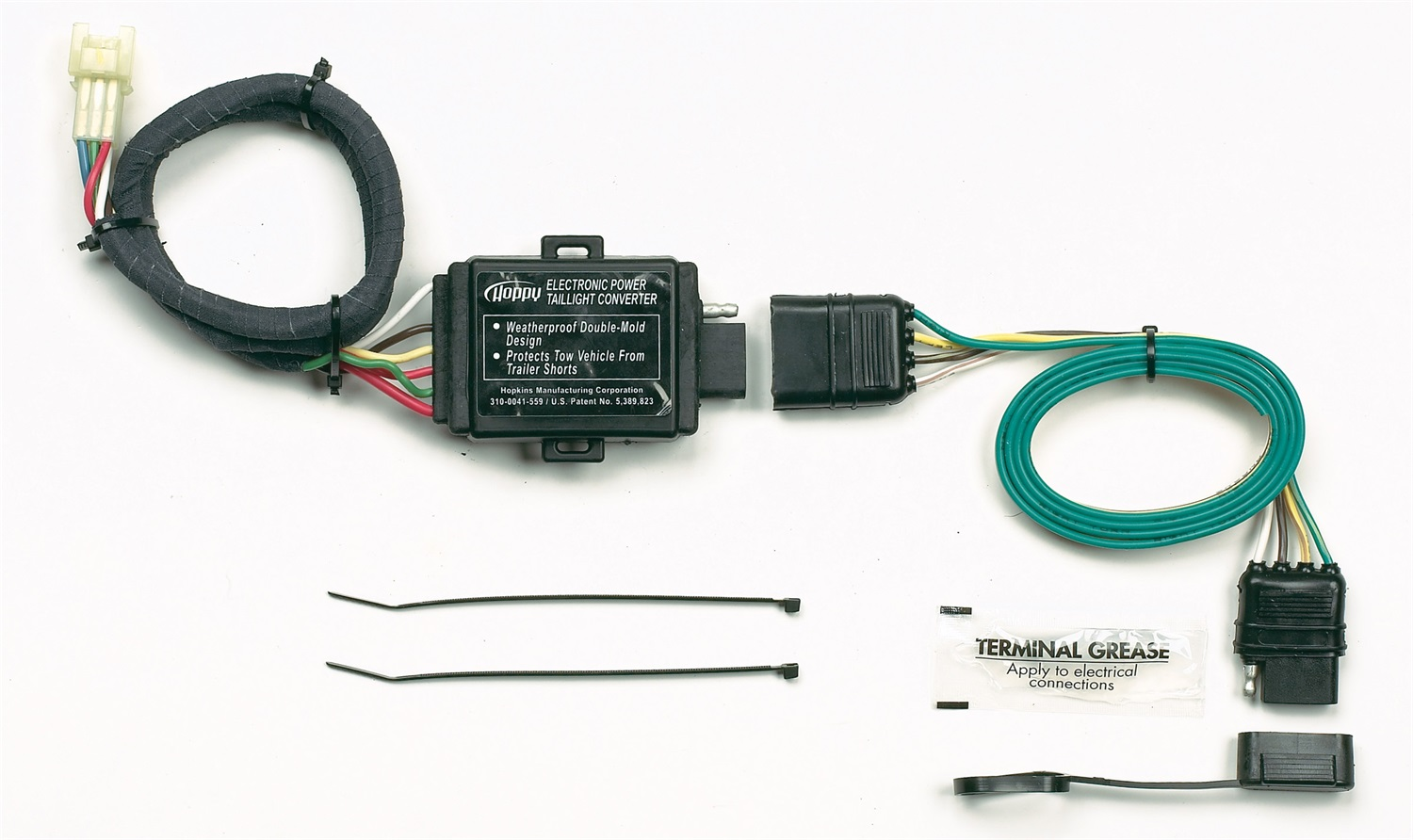 Hopkins Mfg 43855 Plug In Simple R Trailer Wiring Connector A Double