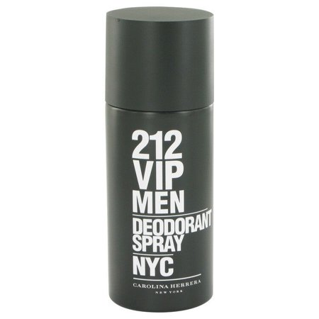 (pack 6) 212 Vip Cologne By Carolina Herrera Deodorant Spray5 oz - image 2 of 2